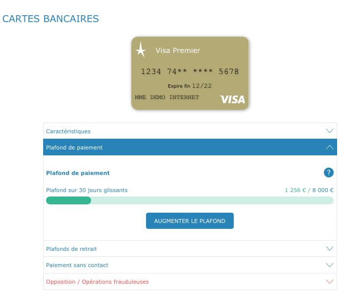 Cartes bancaires - Plafond carte maestro credit agricole ...